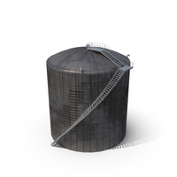 Industrial Site Silo PNG & PSD Images