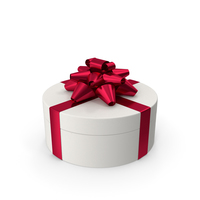 Ring Gift Box White Red PNG & PSD Images