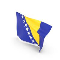 Flag of Bosnia and Herzegovina PNG & PSD Images