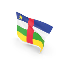 Flag of Central African Republic PNG & PSD Images