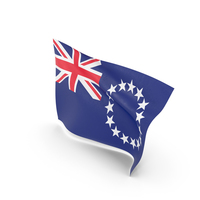 Flag of Cook Islands PNG & PSD Images