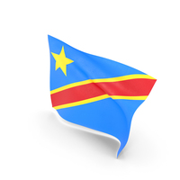 Flag of Democratic Republic of the Congo PNG & PSD Images