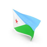 Flag of Djibouti PNG & PSD Images