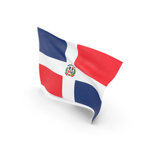 Flag of Dominican Republic PNG & PSD Images