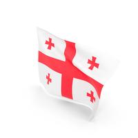 Flag of Georgia Republic PNG & PSD Images