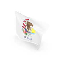 Flag of Illinois PNG & PSD Images