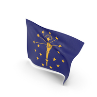 Flag of Indiana PNG & PSD Images
