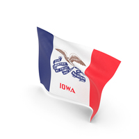 Flag of Iowa PNG & PSD Images