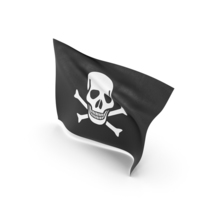 Flag of Jolly Roger (Pirate Flag) PNG & PSD Images
