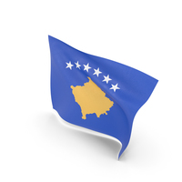 Flag of Kosovo PNG & PSD Images