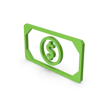 Symbol Banknote Green PNG & PSD Images