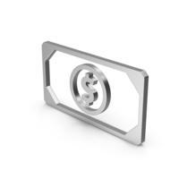 Symbol Banknote Silver PNG & PSD Images