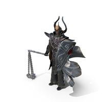 Dark Flail Warrior PNG & PSD Images