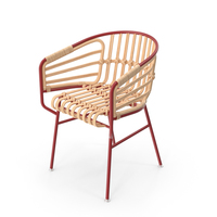 Casamania Raphia Rattan Chair PNG & PSD Images