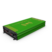 Car Amplifier Green PNG & PSD Images