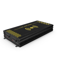 Car Amplifier Black Used PNG & PSD Images