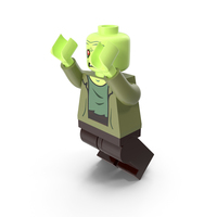 Lego Zombie Jumping PNG & PSD Images
