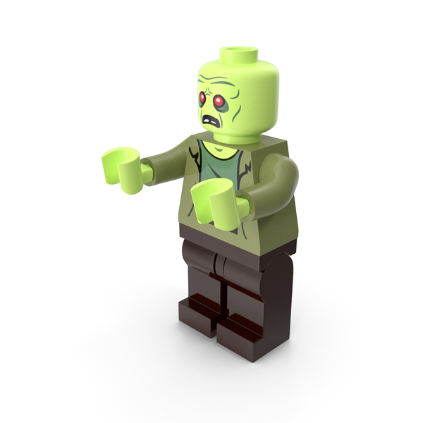 Lego Zombie Pose PNG & PSD Images