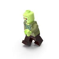 Lego Zombie Running PNG & PSD Images