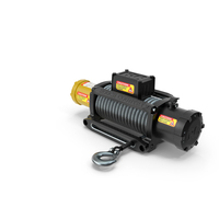 Winch Yellow New PNG & PSD Images