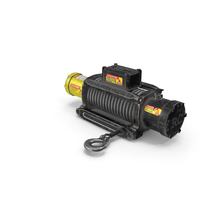 Winch Yellow Used PNG & PSD Images