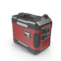 Portable Generator Red PNG & PSD Images