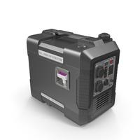 Portable Generator Black PNG & PSD Images