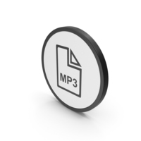 Icon MP3 File PNG & PSD Images