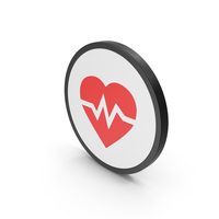 Icon Heart Medicine Red PNG & PSD Images
