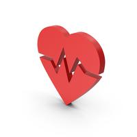 Symbol Heart Medicine Red PNG & PSD Images