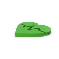 Green Symbol Heart Medicine PNG & PSD Images