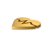 Gold Symbol Heart Medicine PNG & PSD Images