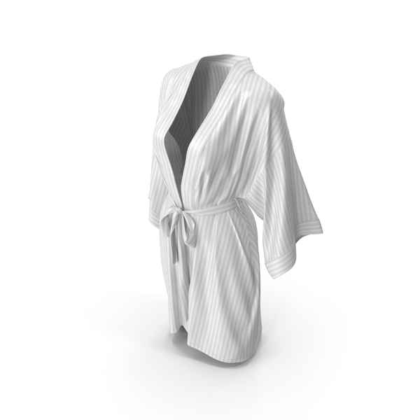 Womens Bathrobe White PNG & PSD Images