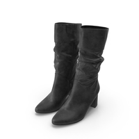 Women's High Heel Shoes Black PNG & PSD Images