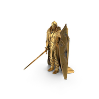 Golden Knight PNG & PSD Images