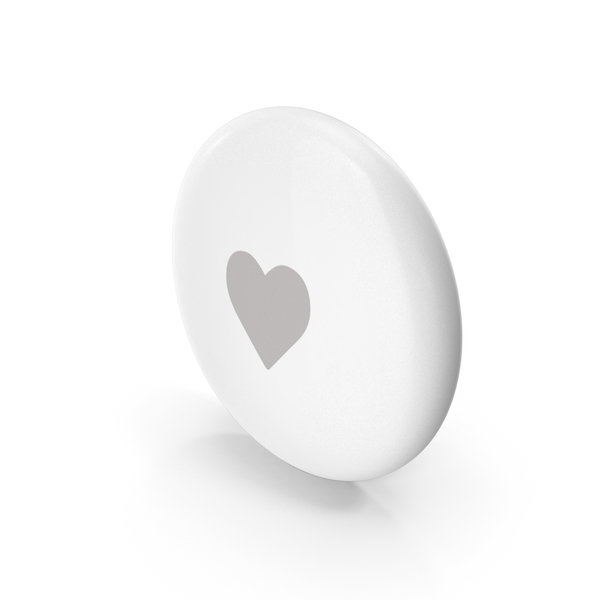 Apple AirTag Emoji Heart PNG & PSD Images