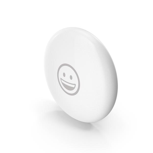 Apple AirTag Emoji Smile PNG & PSD Images