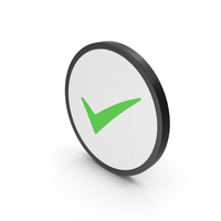 Icon Checkmark Green PNG & PSD Images