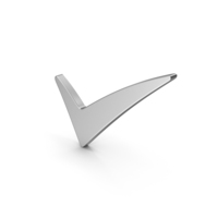 Symbol Checkmark Silver PNG & PSD Images