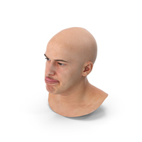Marcus Human Head Tongue Show Up AU19 PNG & PSD Images
