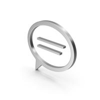 Symbol Mind Silver PNG & PSD Images