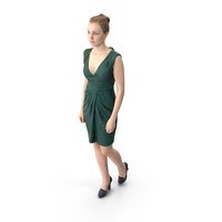 Walking Elegant Woman PNG & PSD Images
