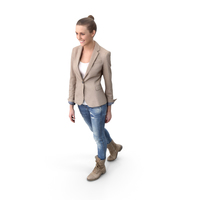 Walking Woman Posed PNG & PSD Images