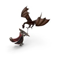 Knight vs Dragon PNG & PSD Images