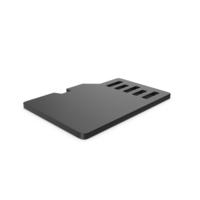 Black Symbol SD Card PNG & PSD Images