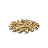 Gold Sun Pool Float PNG & PSD Images