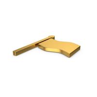 Gold Symbol Flag PNG & PSD Images