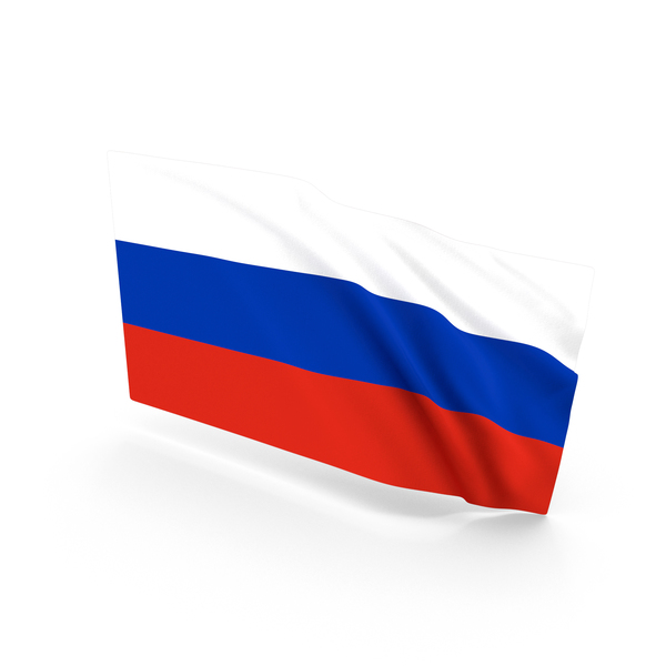 Russia Waving Flag PNG & PSD Images