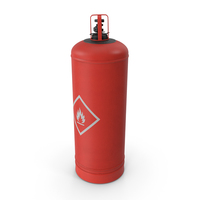 Red Propane Cylinder PNG & PSD Images