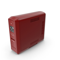 UPS New Red PNG & PSD Images